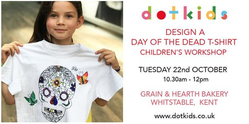 Design A Day Of The Dead T-shirt - Children's Workshop
