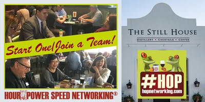 HOP AM Business Networking Gervasi Still House Canton *Open to all!