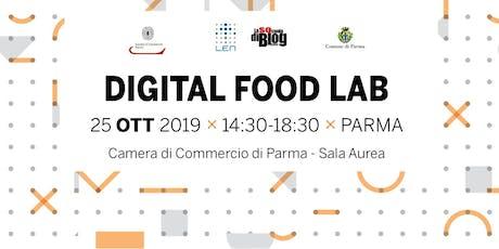 Digital Food Lab - Nuove tecnologie e ristorazione. biglietti