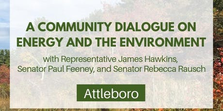 Attleboro Dialogue on Energy and the Environment tickets