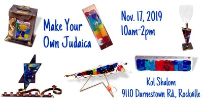Create Your Own Gary Rosenthal Judaica with Danny & Galit