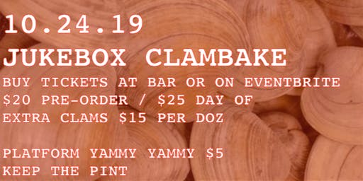 Clam Bake at Jukebox!