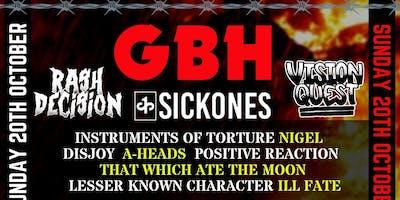 Crush Hate Fest 2019 / Weekend Tickets / Strange Bones + GBH