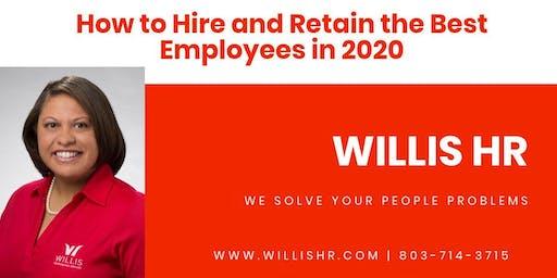 Webinar: How to Hire and Retain the Best Employees in 2020