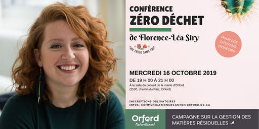 Conférence sur le zéro déchet
