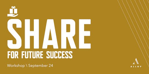 Share for Future Success - A Non Routine Leadership™ Workshop