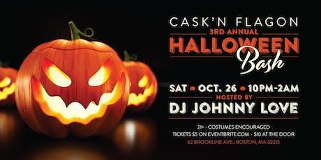 3rd Annual Halloween Bash | Cask 'N Flagon Boston tickets