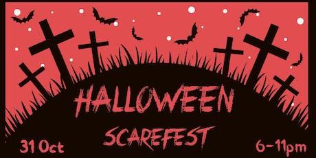 Halloween Scarefest tickets