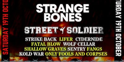 CHF / DAY TICKET / STRANGE BONES, STREET SOLDIER + MORE