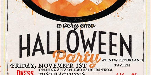 Emo Night Columbia: A Very Emo Halloween 2