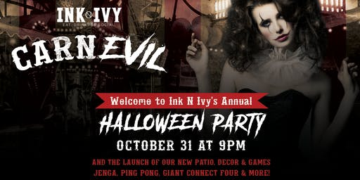 CarnEVIL Halloween Party at Ink N Ivy