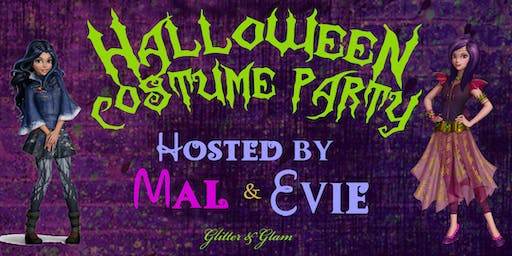 Mal & Evie's Halloween Costume Party