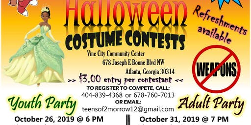 Atlanta's West Side ADULT Halloween Costume Contest