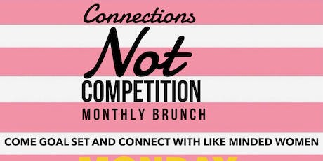 Connections not competition networking tickets