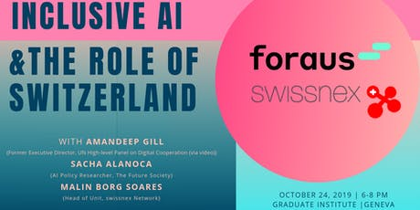 Inclusive AI Governance & the Role of Switzerland billets