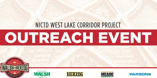 West Lake Corridor Project Outreach Event