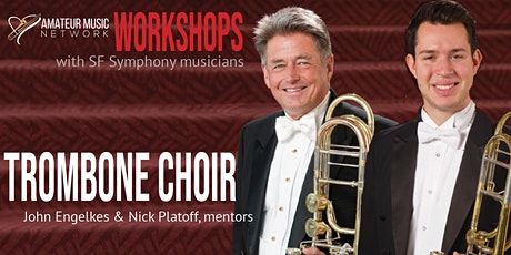 Trombone Choir: workshop and performance tickets