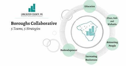 Lancaster EDC Borough Collaborative - Using Data for Economic Development tickets
