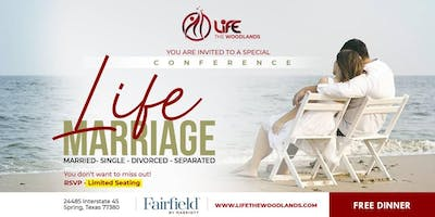 Free Thanksgiving Dinner & Marriage Conference by LifeTheWoodlands.com