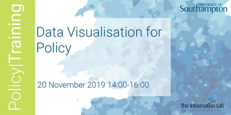 Data Visualization for Policy - Autumn 2019 tickets