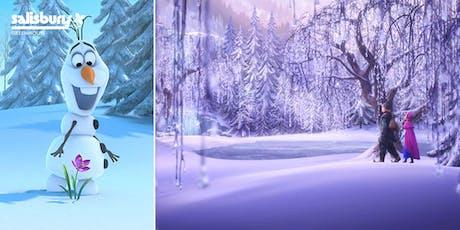 """""""Frozen"""" Garden tickets"""