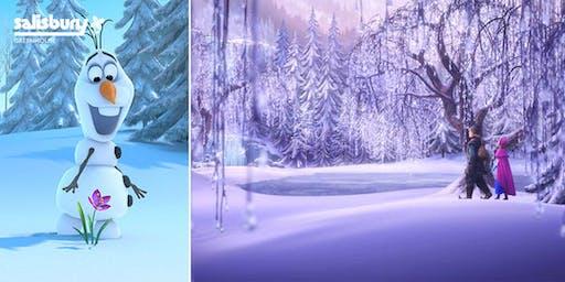 """Frozen"" Garden"