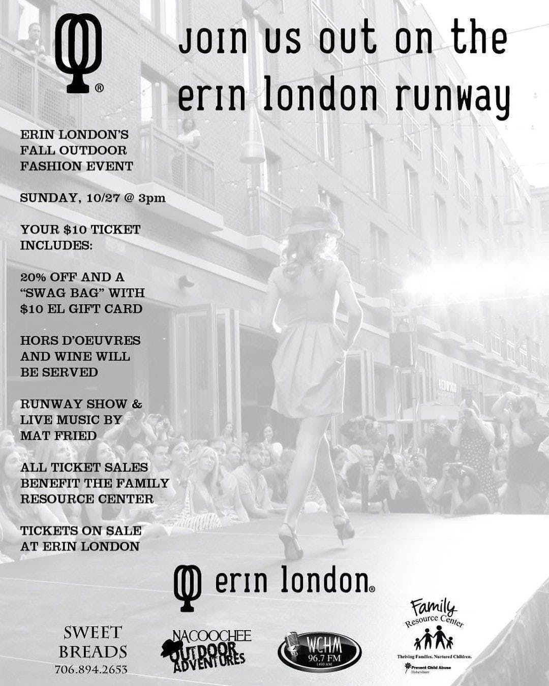 Erin London's Fall Fashion Show Event