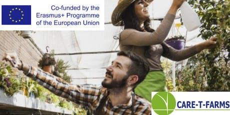 """Care-T-Farms: """" Agricultura social: oportunidades laborales, cooperación e inclusión"""" entradas"""