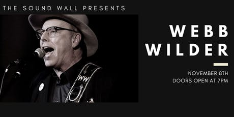 Webb Wilder | November 8, 2019 tickets