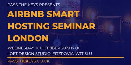 Airbnb Smart Hosting Seminar - London tickets