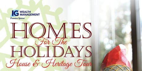 Homes for the Holidays 2019 tickets