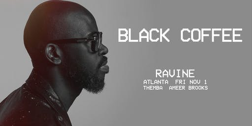 Black Coffee, Themba, & Ameer Brooks at Ravine