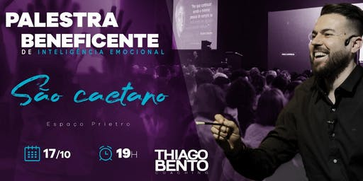 PALESTRA BENEFICENTE DE INTELIGÊNCIA EMOCIONAL EM SÃO CAETANO - SP 17/10/19