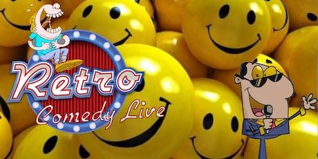 Retro Comedy Live Episode 5 tickets