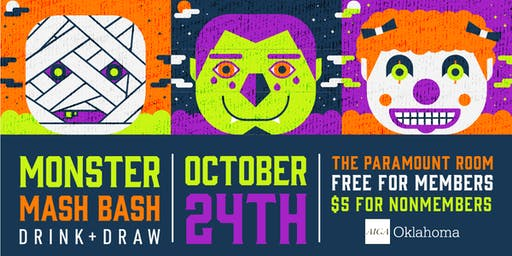 Monster Mash Bash // Drink + Draw