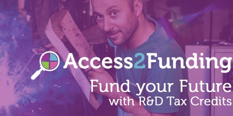 Grow your Business with R&D Tax Incentives tickets