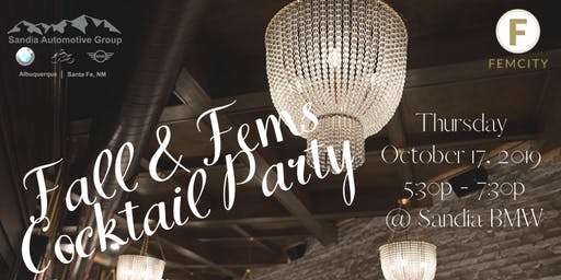 Fall & Fems Cocktail Party