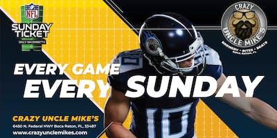 NFL Sunday Ticket Brunch