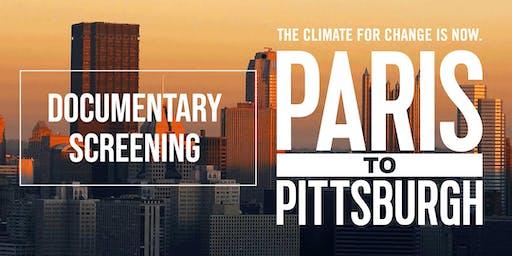 Paris to Pittsburgh - Documentary Screening