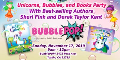 Unicorns, Bubbles, and Books! A Whimsical World / BubblePOP Party for Kids