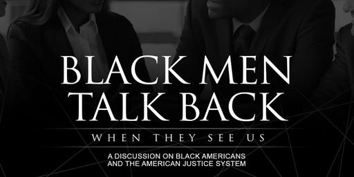 Emerging 100 of Houston Presents Black Men Talk Back