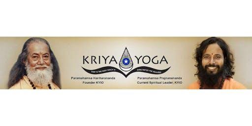 Public Talk - Introduction to Kriya Yoga