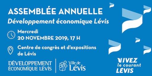 Assemblée annuelle 2019 - Développement Économique Lévis (DEL)