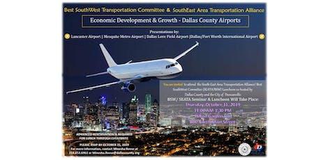 Economic Development & Growth - Dallas County Airports tickets