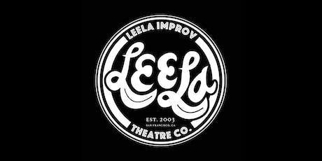 Leela Presents: Event Horizon, Tough to Say, Radiostar Improv tickets