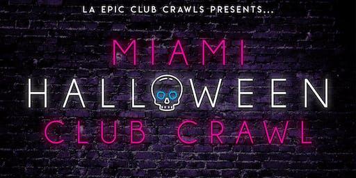 Miami Halloween Club Crawl