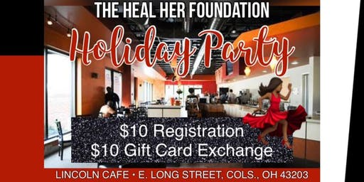 HEAL HER - Holiday Party