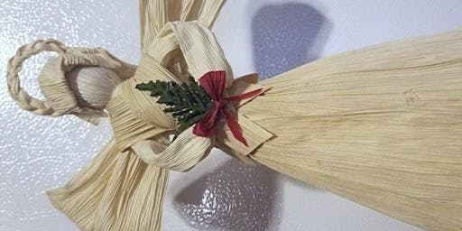 Corn Husk Angel Tree Topper