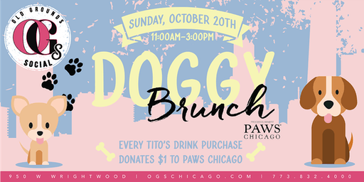 Doggy Brunch Benefiting PAWs Chicago!