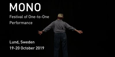 Mono Festival of One-to-One Performance 2019